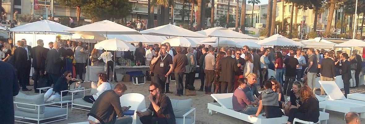 Holland Beach Party Cannes druk bezocht