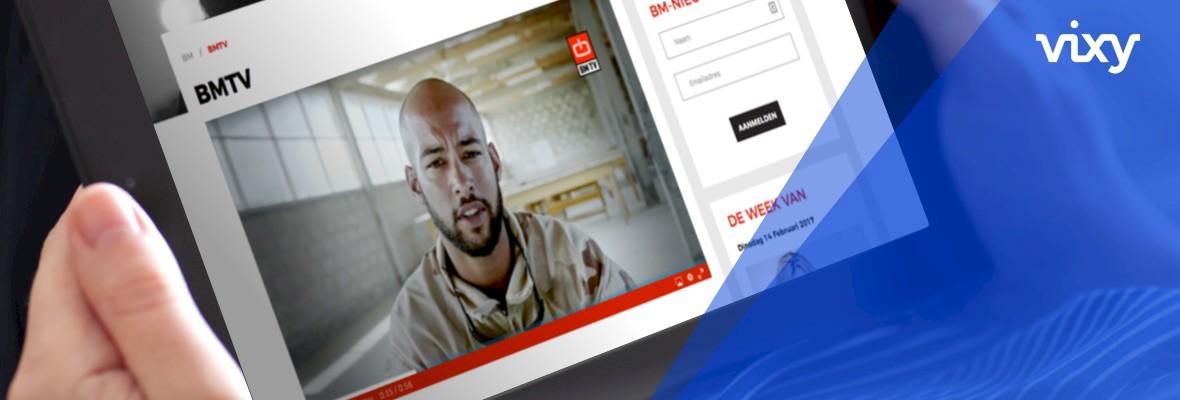 BM start met online videoplatform VIXY