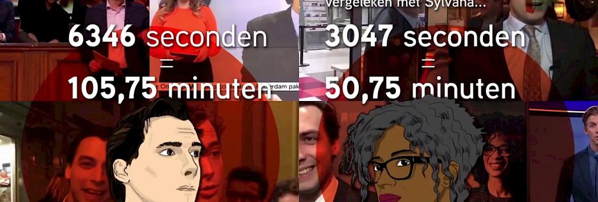 Linkse politici vaker op tv bij NPO