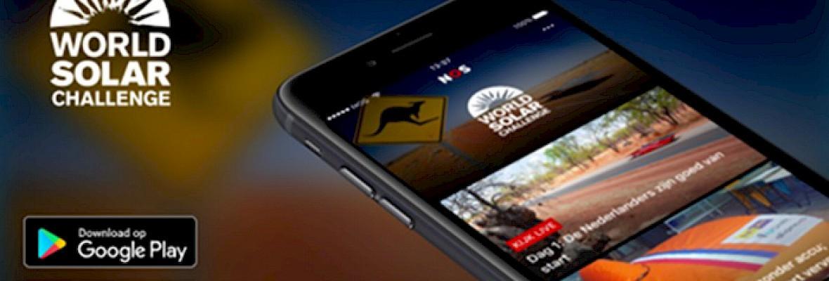 NOS lanceert World Solar Challenge video-app