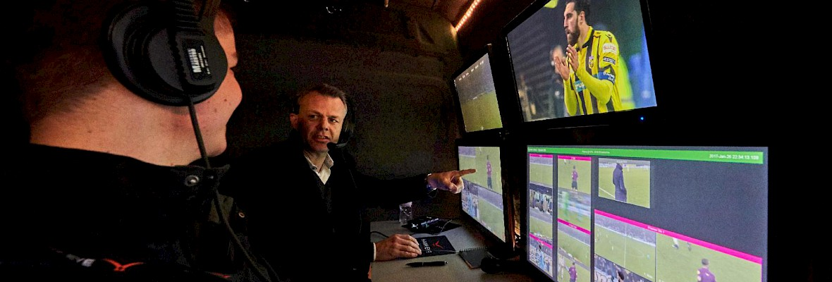 Ericsson faciliteert videoreferee KNVB Beker