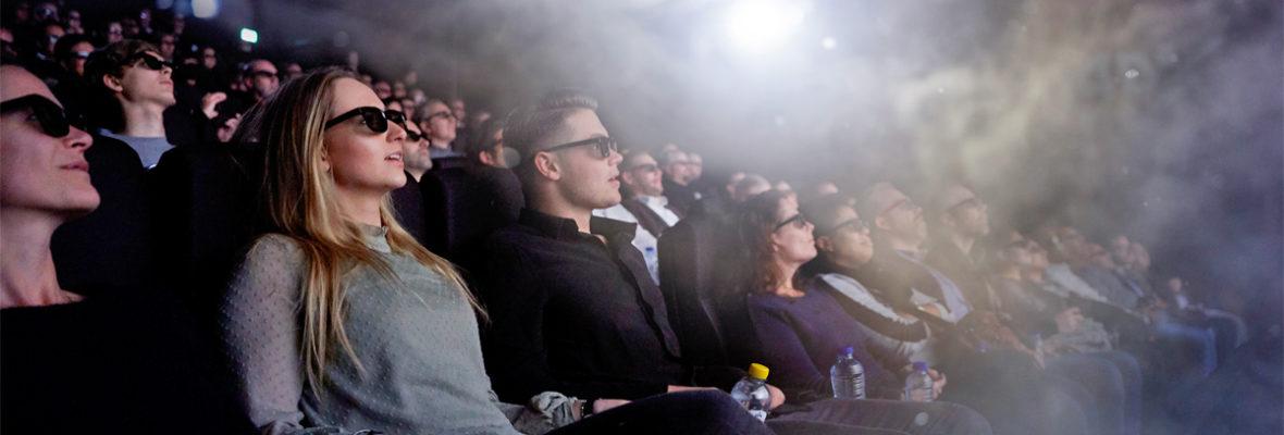 Vierdimensionale bioscoopervaring Pathé slaat aan