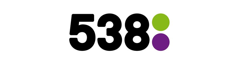 Radio 538 marktleider in oktober-november