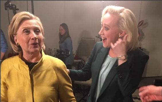 Jinek interviewt Clinton