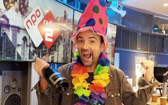 Gerard Ekdom viert zijn 40e verjaardag met 40 luisteraars