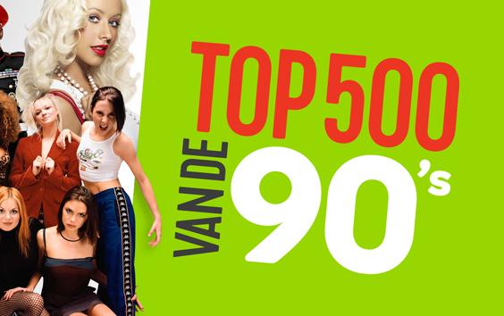 Top 500 van de 90´s vanaf maandag op Qmusic