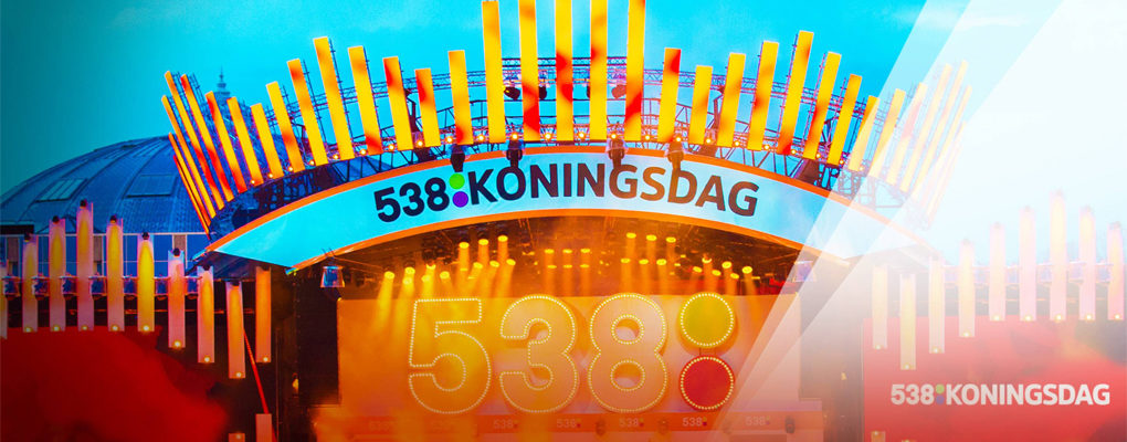 538 Koningsdag via radio, TV 538 en online