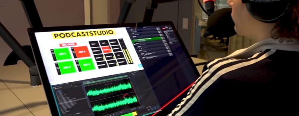 BNR Nieuwsradio opent  geavanceerde podcaststudio