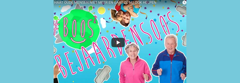 Tim Hofman maakt bejaardenversie van #BOOS