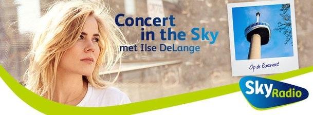 Ilse DeLange gaat Sky high