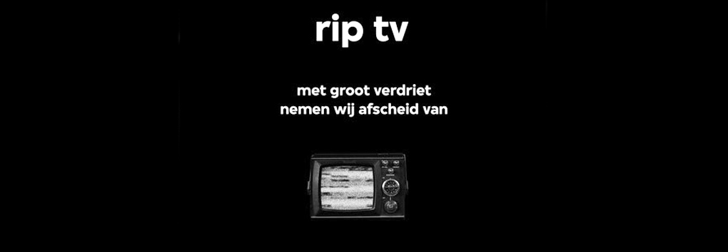 VPRO presenteert webserie RIP TV