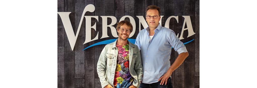 Jeroen Latijnhouwers vaste nieuwslezer Veronica Ochtendshow