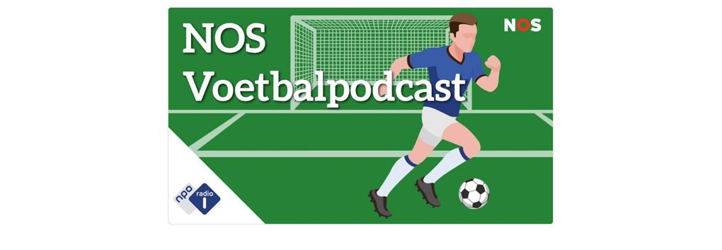 NOS gestart met wekelijkse voetbalpodcast