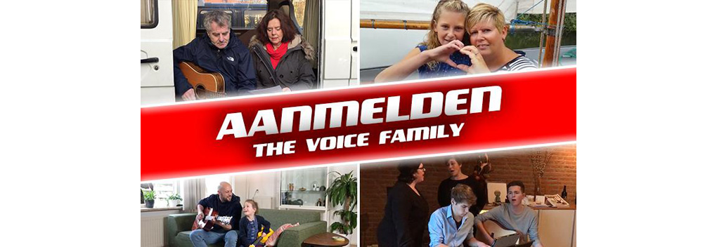 RTL komt met online programma The Voice Family