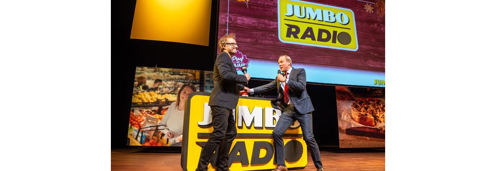 Jumbo eerste supermarktketen met eigen radiostation