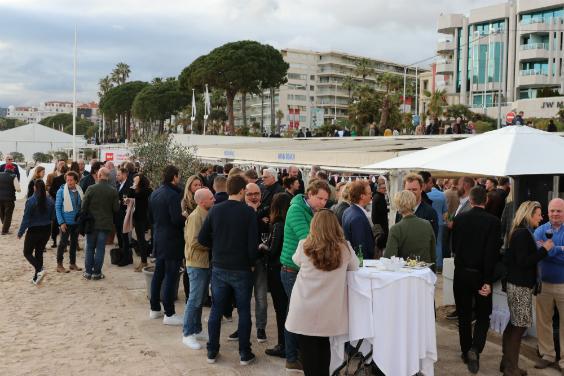 35 jaar Holland Beach Party tijdens MIPCOM
