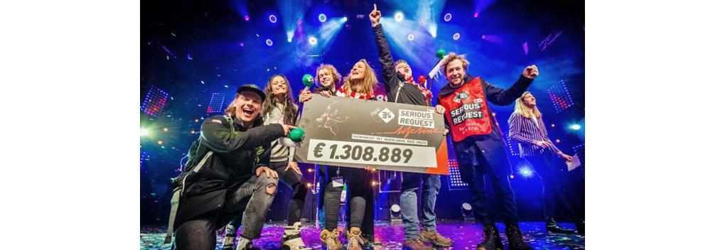 3FM Serious Request: Lifeline brengt 1,3 miljoen euro op
