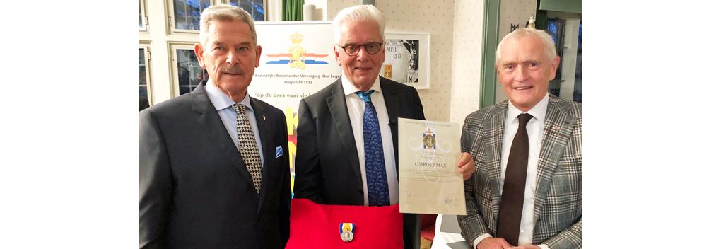 Prins Maurits medaille voor Omroep MAX