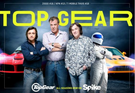 Top Gear-marathon op Spike