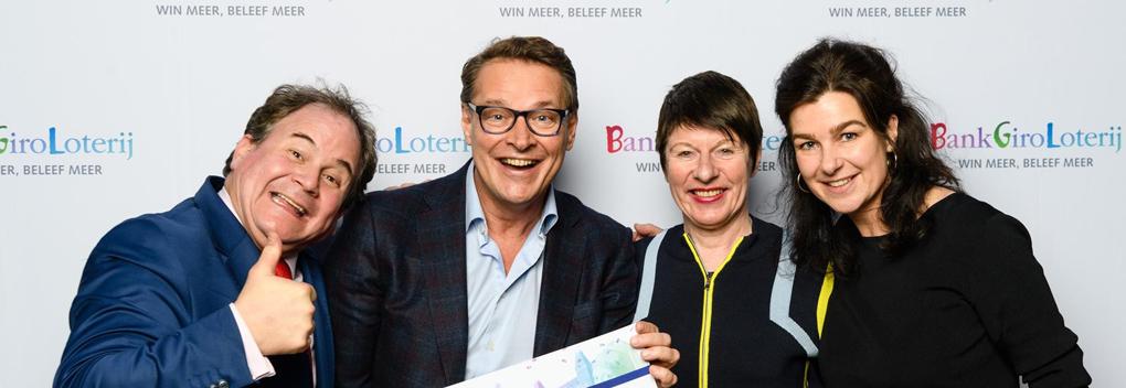 BankGiro Loterij schenkt Beeld en Geluid bijna vijf ton
