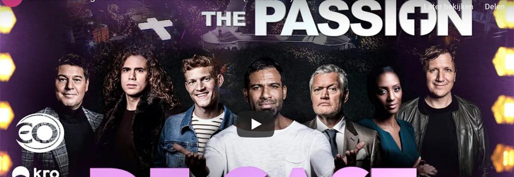 Martijn Krabbé verteller in The Passion 2019