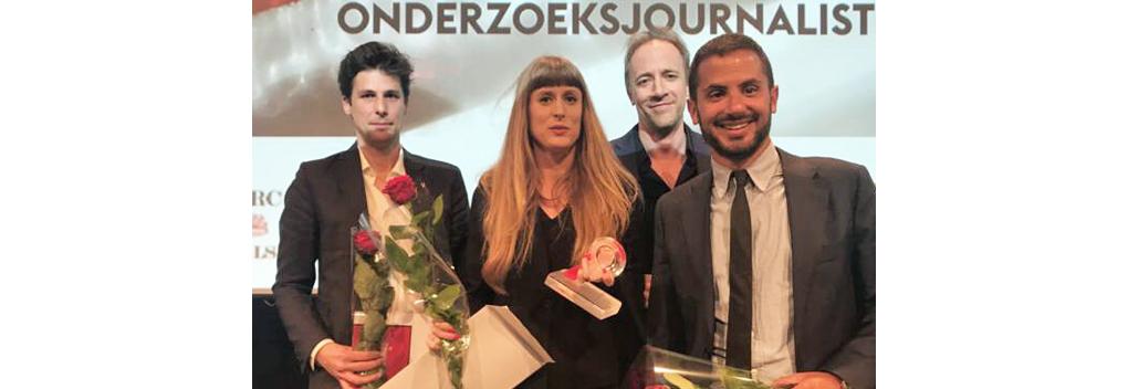 Prijzen voor onderzoeksjournalistiek Nieuwsuur