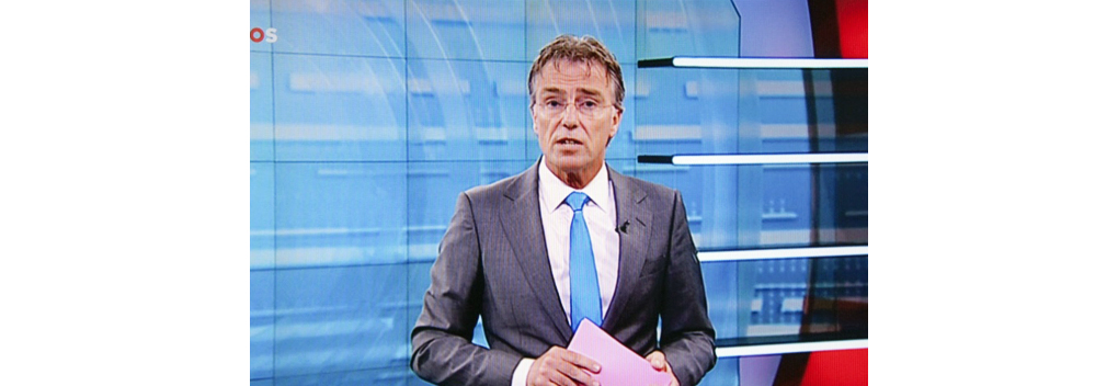 NOS-presentator Rob Trip terug op tv
