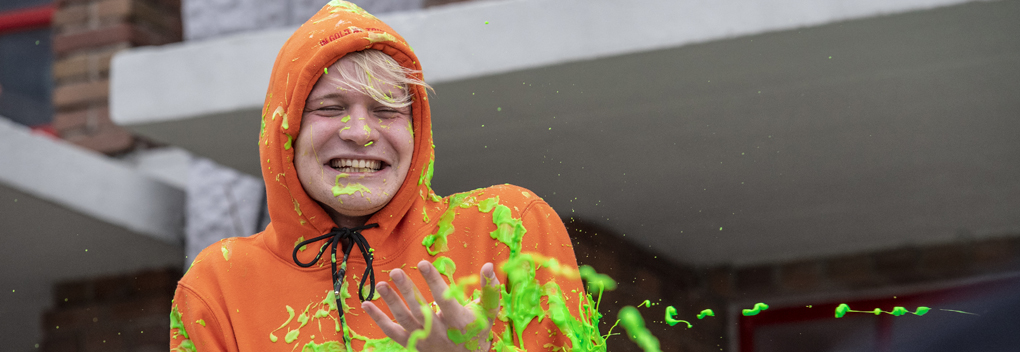 YouTuber Kalvijn geslimed door Nickelodeon