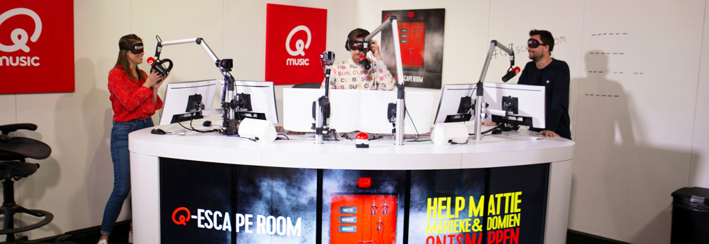 Qmusic gestart met Q-Escape Room