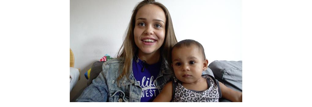 Telegraaf Video brengt Tienermoeder: wéér zwanger