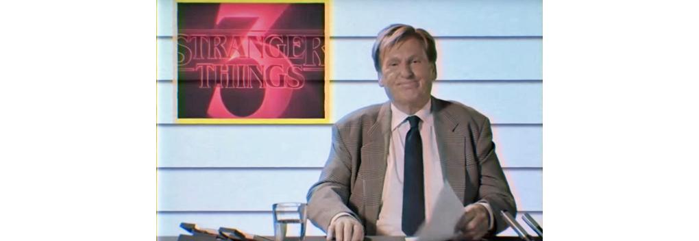 Netflix zet Henny Huisman in voor promotie Stranger Things