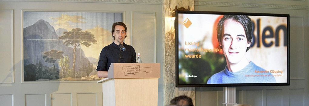 Alexander Klöpping: 'Wie de filterbubbel het beste bedient, wint de strijd'