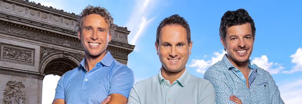 Wielertalkshow Tour Du Jour vanaf 6 juli bij RTL 7