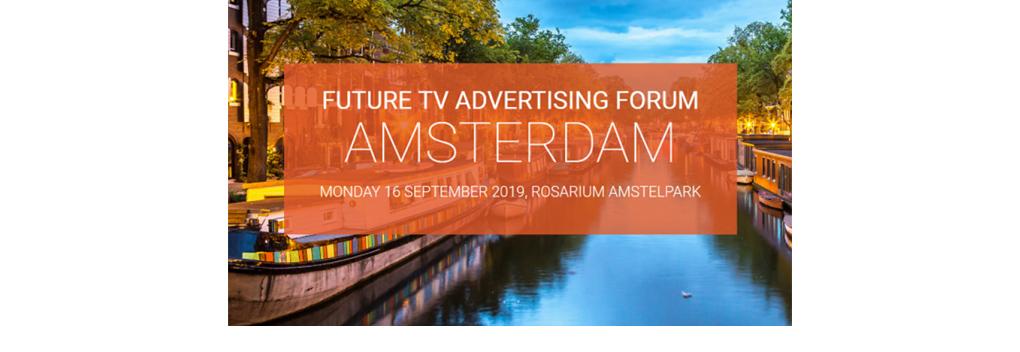 Future TV Advertising Forum in Amsterdam