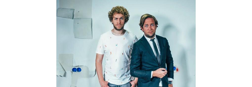 Mark van der Molen en Rámon Verkoeijen ambassadeurs Justdiggit