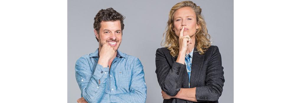 Sophie Hilbrand en Filemon Wesselink terug als duo