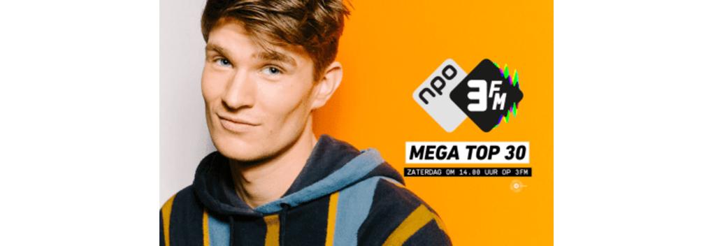 Mega Top 30 van NPO 3FM is meest actuele hitlijst