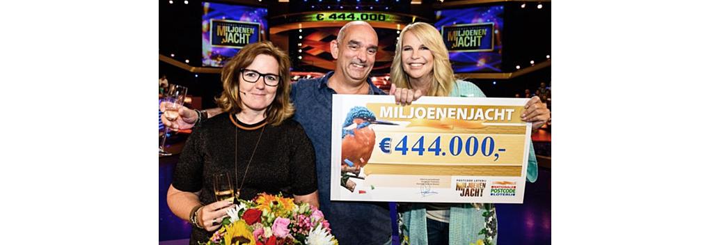 1.482.000 kijkers voor Postcode Loterij Miljoenenjacht op SBS6