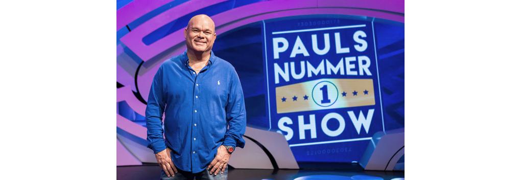 Pauls Nummer 1 Show vanaf november bij RTL 4