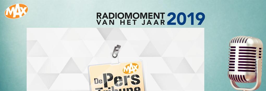 De Perstribune maakt Radiomoment van 2019 bekend