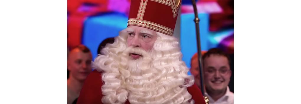 Marco Louwerens in Veronica Inside als Sinterklaas