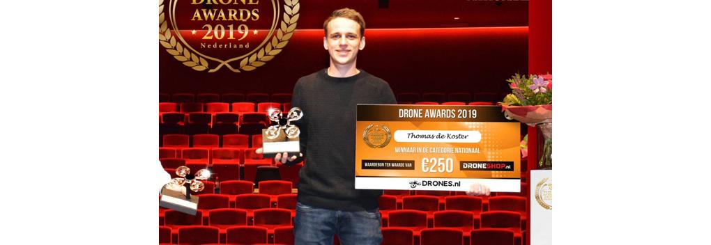 Thomas de Koster maakt beste dronevideo van Nederland