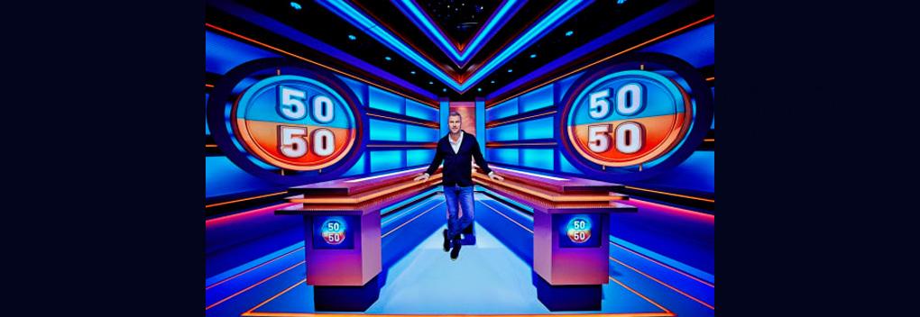 Winston Gerschtanowitz presenteert nieuwe dagelijkse quiz 50/50