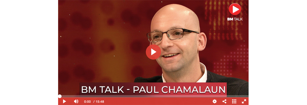 BM Talk met Paul Chamalaun