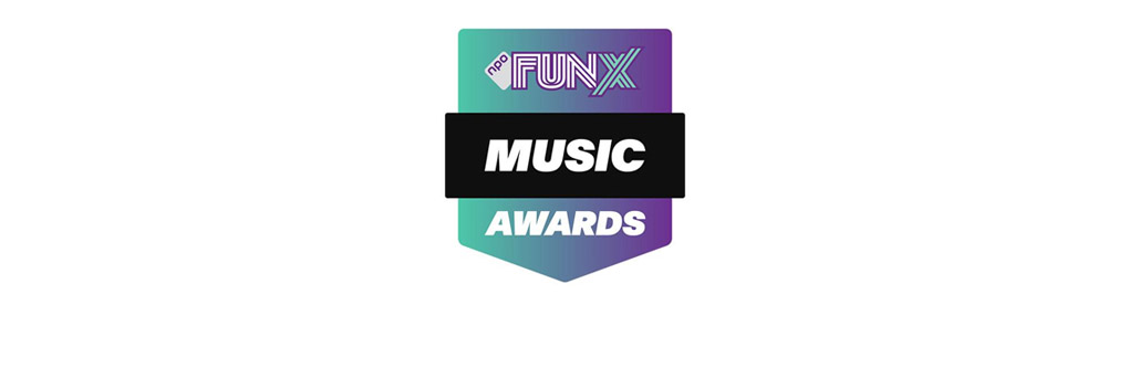 FunX Music Awards 16 september op NPO 3