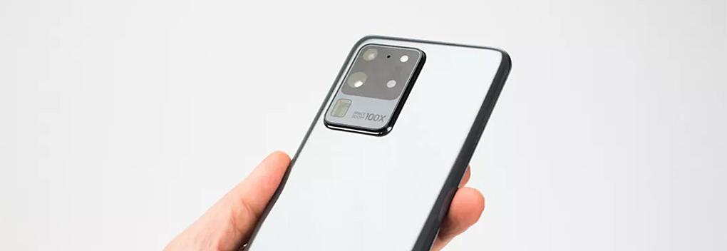 Samsung Galaxy S20 Ultra kan tot 100 keer inzoomen