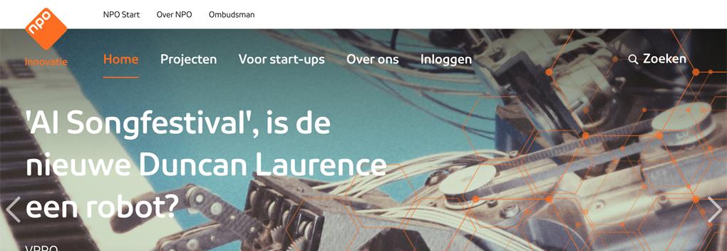 NPO Innovatie lanceert website