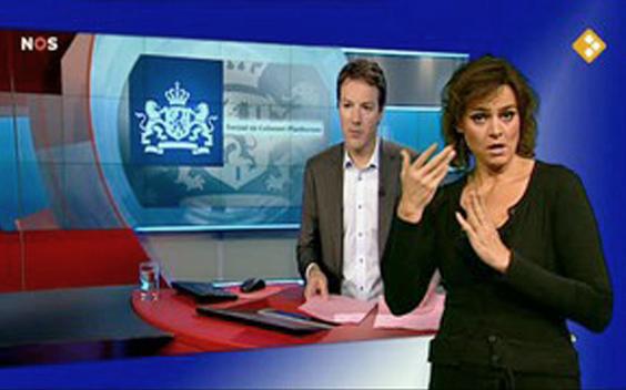 NPO zet gebarentolk in bij verkiezingsdebatten