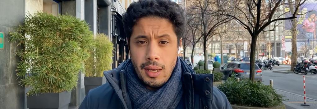 NOS-correspondent Mustafa Marghadi blijft actief in Noord-Italië