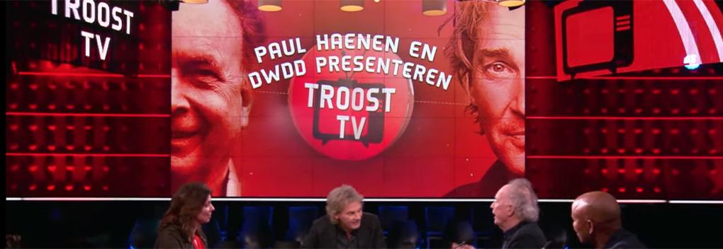Troost-TV krijgt vervolg om 21.30 uur op NPO 3